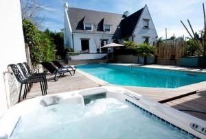 Chambres d'hôtes piscine chauffé morbihan