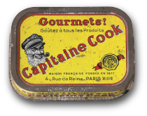 conserverie capitaine cook