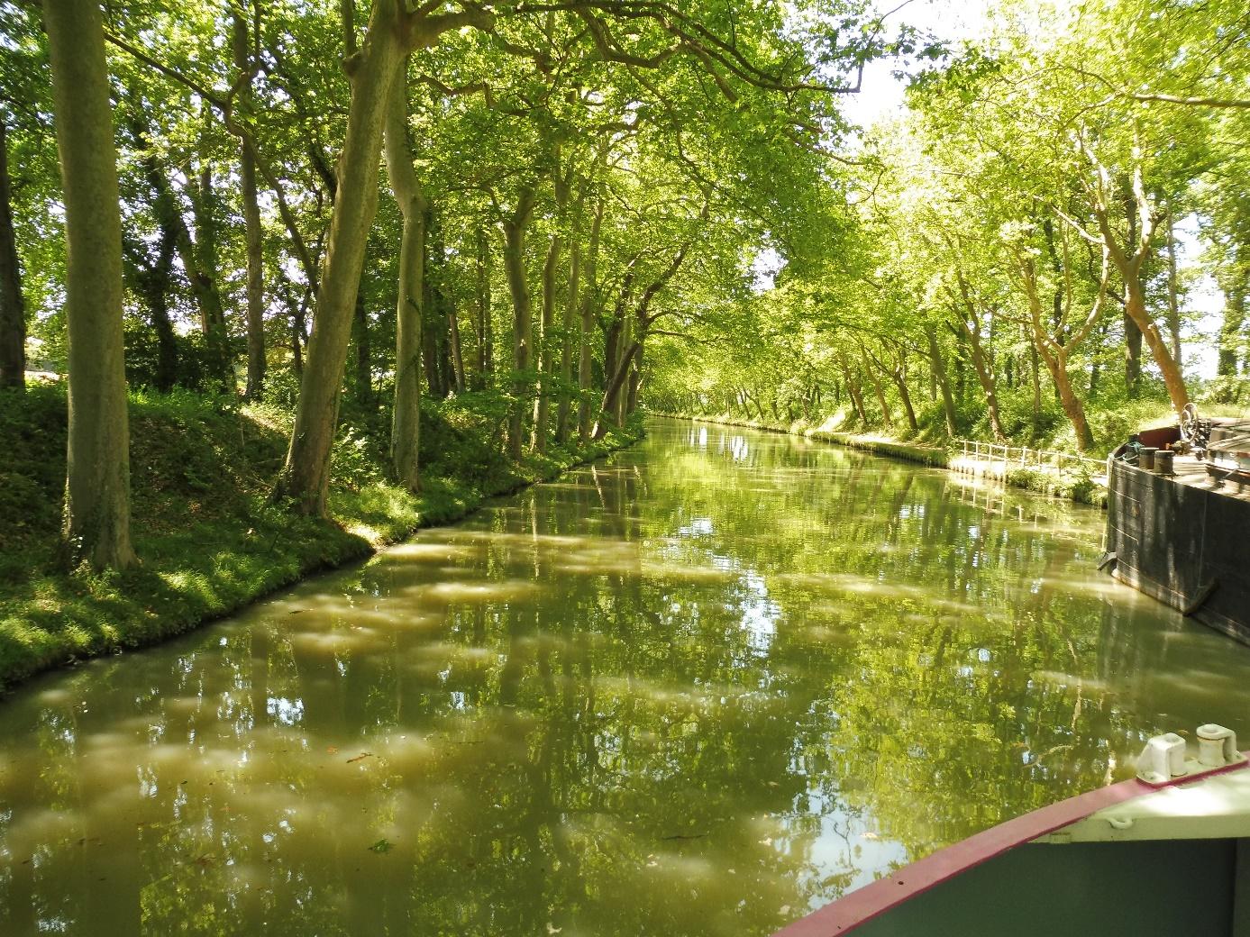 Vacances insolites sur le canal du midi